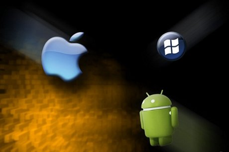 S khc bit gia Android, iOS v Windows Phone
