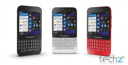 BlackBerry Q5 gi r c cng b, bn phm QWERTY vi nhiu mu sc