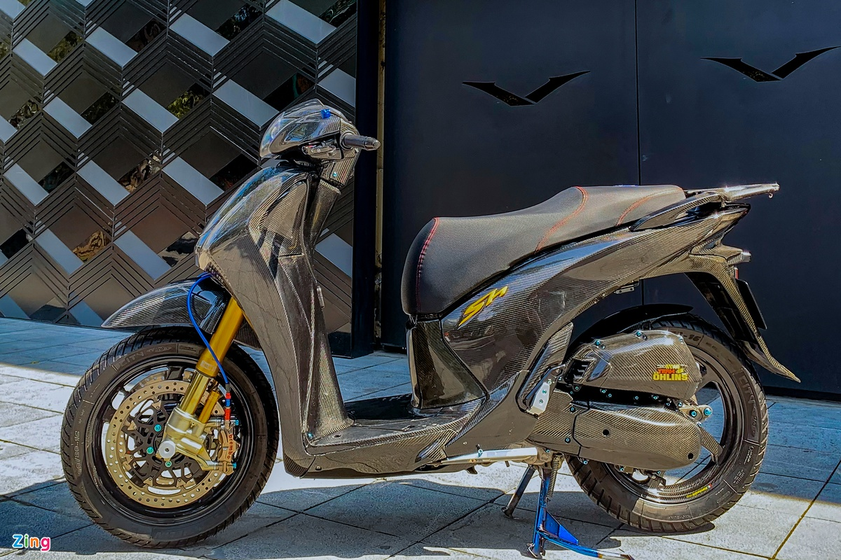 Honda SH 150i super product with the same package as the price of the wheel of Kia Seltos photo 2