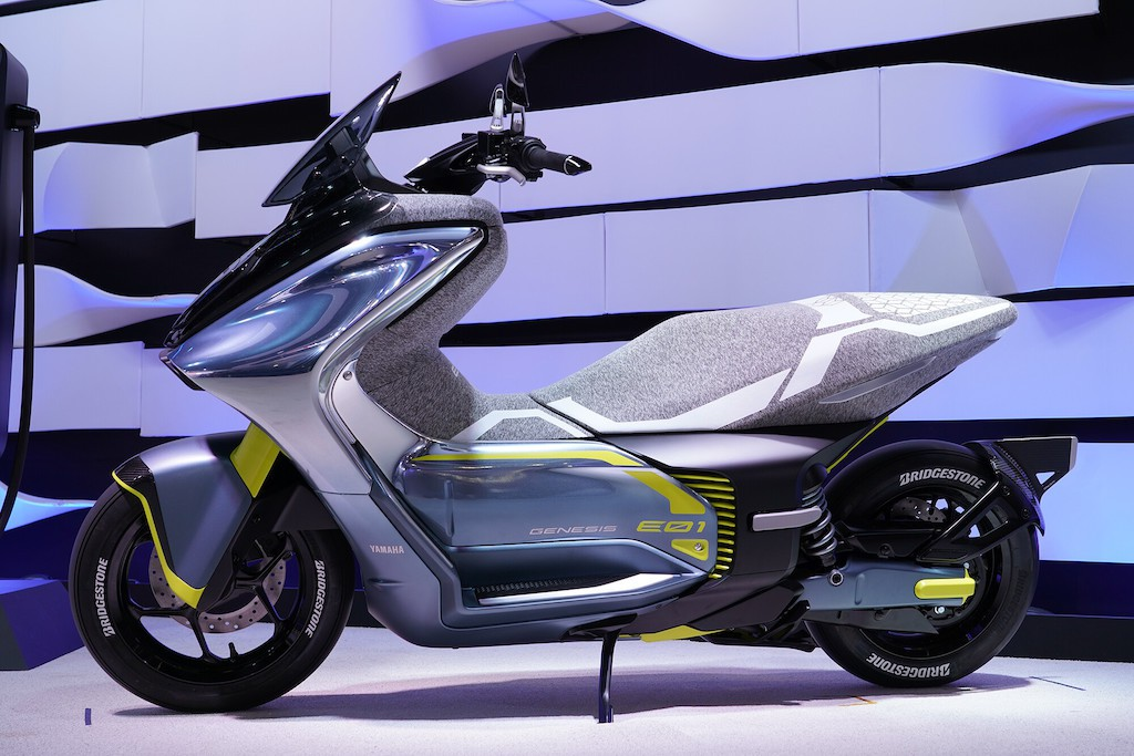 Honda Air Blade 125, Honda SH Mode is about to be 'disgraced' before the super electric scooter product has just been revealed by Yamaha.