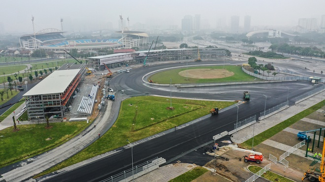 F1 Vietnam race track rushed construction to keep up the competition