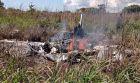 Máy bay chở chủ tịch và cầu thủ CLB Palmas gặp nạn, 6 người tử vong