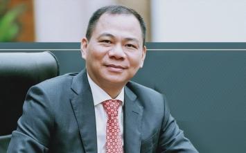 'Công ty ruột' của ông Phạm Nhật Vượng nhận hàng nghìn tỷ cổ phiếu Vingroup từ 5 cá nhân