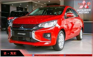 Mitsubishi Attrage 2020 ra mắt thị trường Việt Nam với giá siêu rẻ chỉ từ 375 triệu