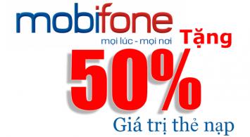 Chi tiết chương trình khuyến mại của Mobifone ngày 22/4/2021