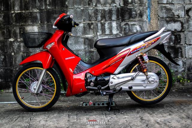 Cận cảnh chiếc Honda Wave 125 độ cùng loạt trang bị 'không thể ngờ' của dân chơi Thái Lan